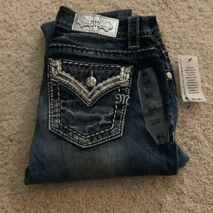 NWT size 26 easy straight Miss Me jeans